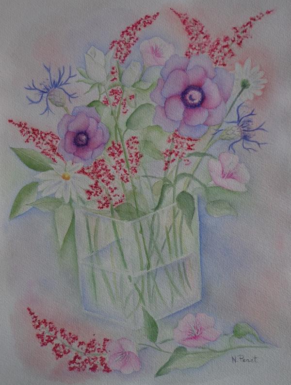 Bouquet du jardin nathalie penet for Fleurs du jardin
