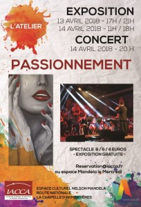 affiche expo concert