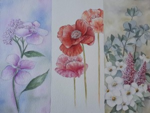 trio floral